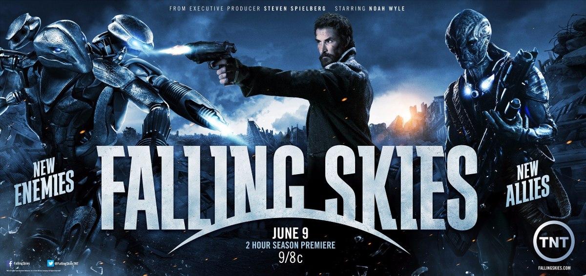 Falling Skies - 4 Temporada Dublada Com Caixinha E Ecarte - R$ 20,00 ...