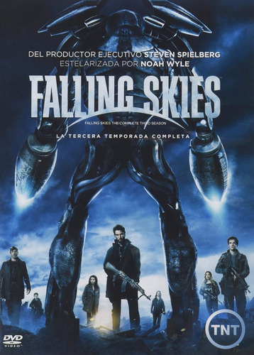 falling skies paquete temporadas 1 2 3 4  dvd