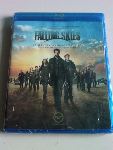 falling skies segunda temporada blu ray disc nuevo nacional