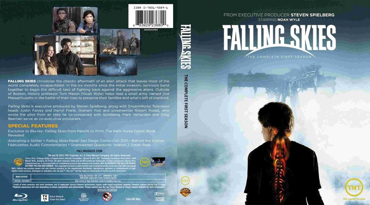 Falling Skies - Temporadas En Dvd - $ 45,00 en Mercado Libre