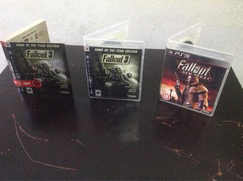 fallout 3 goty y fallout new vegas en condición de nuevos