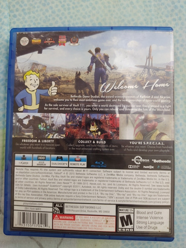 fallout 4 juego ps4