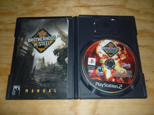 fallout brotherhood of steel ps2 playstation 2