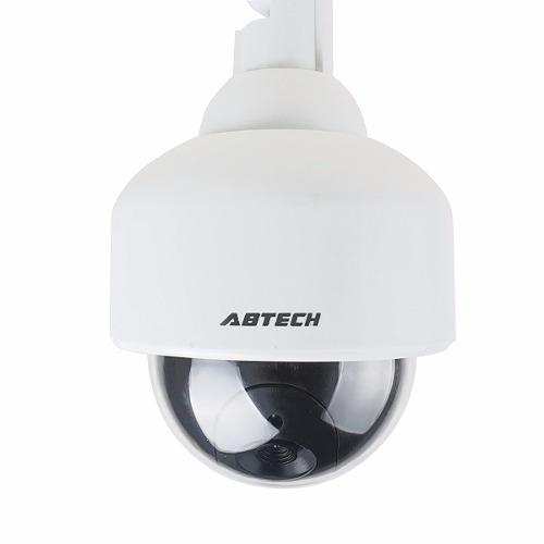 falsa camara seguridad domo luz led interior/exterior w15