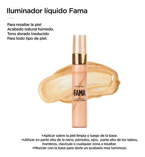 fama | iluminador liquido efecto húmedo