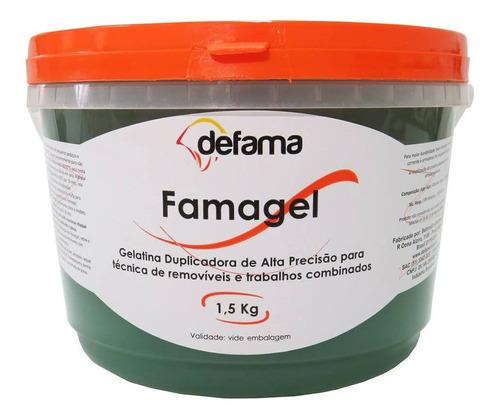 famagel defama - duplicador 1,5kg azul/verde