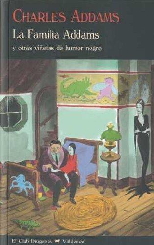 familia addams, charles addams, ed. valdemar