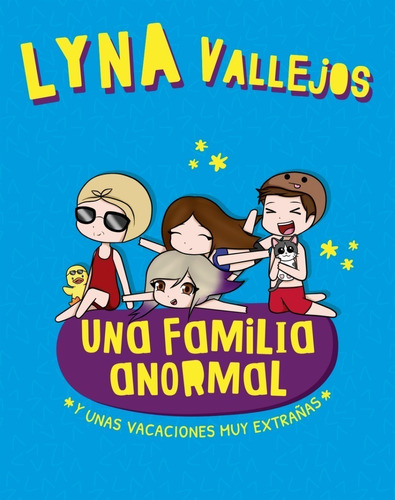 familia anormal 3 + mundo de lyna - vallejos - 2 libros