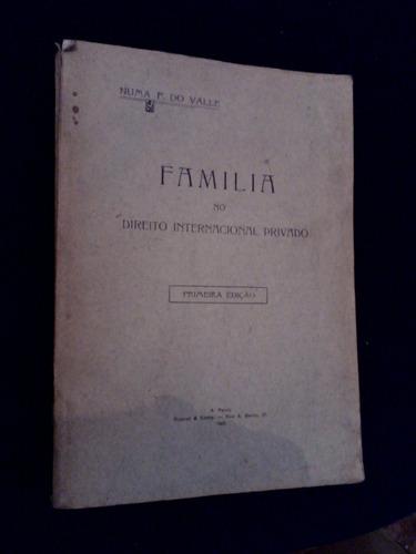 família no direito internacional 1923 numa do valle
