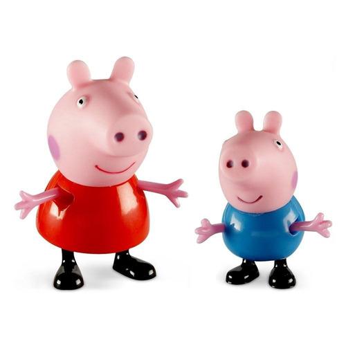 família peppa pig 4 personagem completo
