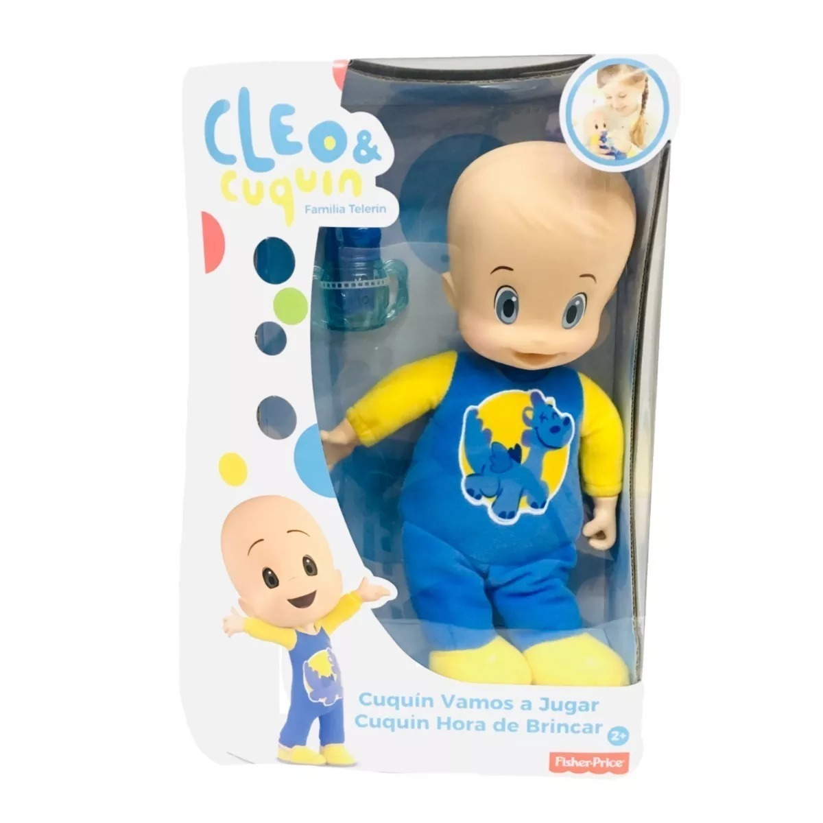 9aec7b2e2 Familia Telerín Cuquín De Cleo Fisher-price Figura - $ 449.00 en ...
