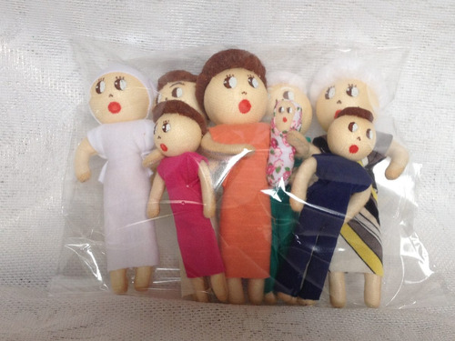 família terapêutica com orgãos sexuais cor branca 03 kits