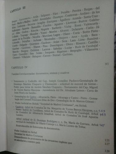 familias ancestrales de cuyo - valerga de neisius - firmado