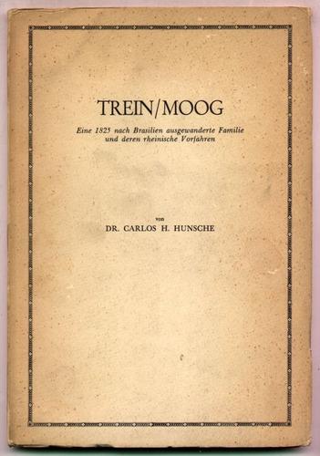 familias trein - moog. hunsche (en alemán) genealogía