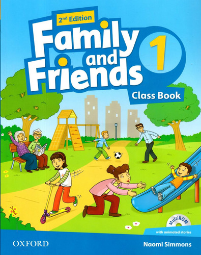 family and friends 1 - class book - 2nd edition - oxford