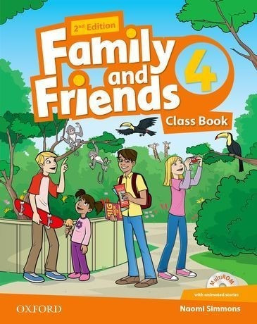 family and friends 4 - class book - oxford 2 edicion
