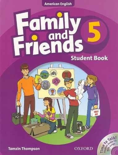 family and friends 5, class book, ed. oxford.