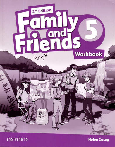 family and friends 5 - workbook - 2nd edition - oxford