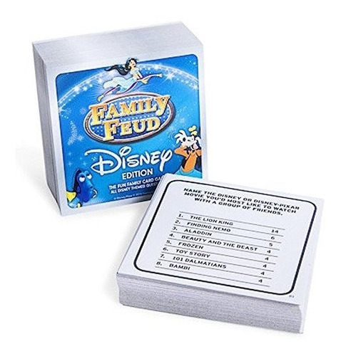 family feud, edicion de disney