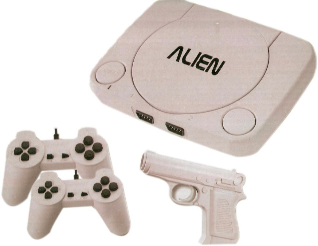 Family Game Alien 1 Con 2 Joystick Pistola Juegos 599 99