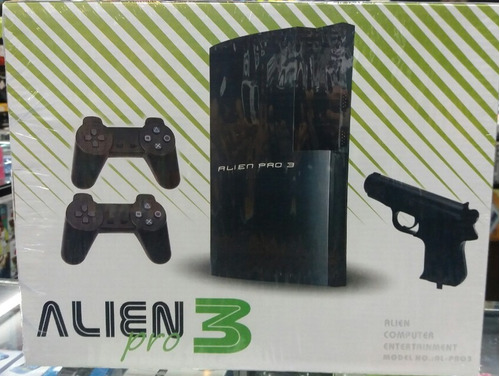 family game alien completo +2 joysticks +pistola +juegos
