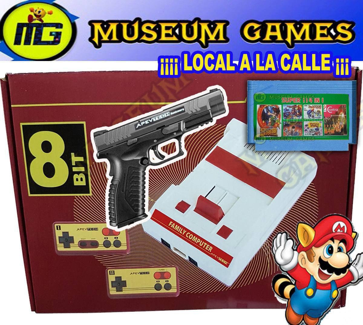 Family Game Retro 120 Juegos Pistola 2 Joys Envio Grat