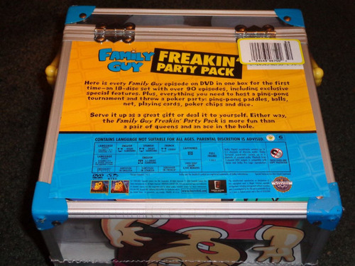 family guy freakin party pack coleccion serie dvd