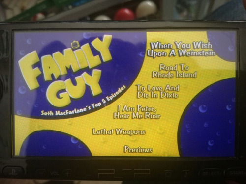 family guy the freakin sweet collection psp