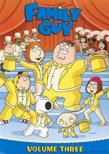 family guy volumen 3. original y sellado (3 discos)