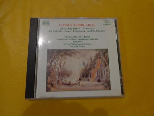 famous tenor arias aida-rigoletto-tosca cd usado importado.