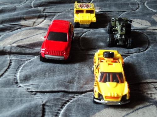 fan autos 1/64 hw set 4pzas jeep compass y otros f80