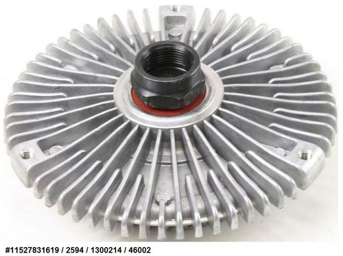 fan clutch de ventilador bmw 535i l6 1989 - 1993 nuevo!!!