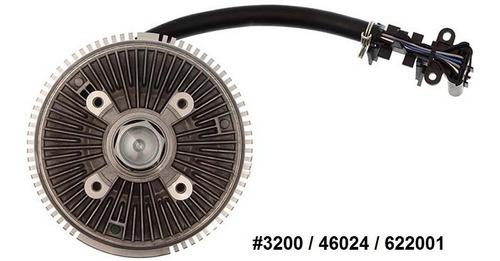 fan clutch de ventilador chevrolet trailblazer 2002 - 2009