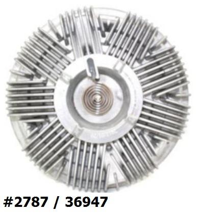 fan clutch de ventilador hummer h3 / h3t 2006 - 2009 nuevo!!