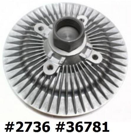fan clutch de ventilador jeep grand cherokee 1999 - 2004