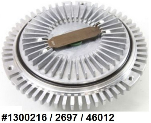 fan clutch de ventilador mercedes- benz ml 320 1998 - 2003
