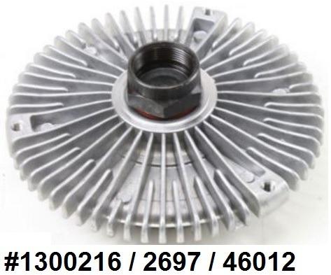 fan clutch de ventilador mercedes- benz ml 350 2003 - 2005