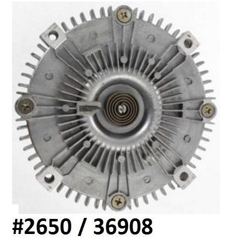 fan clutch de ventilador nissan pickup d21 3.0l 1990 - 1995