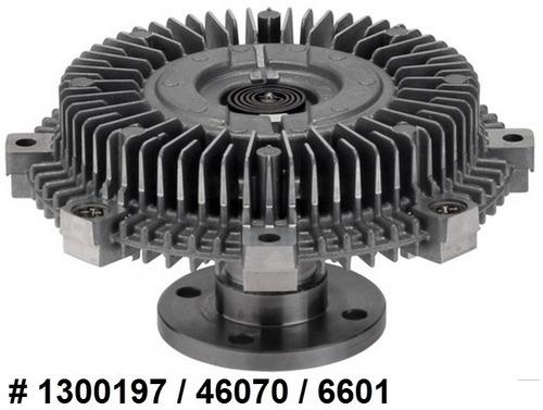fan clutch de ventilador nissan xterra 4.0l v6 2005 - 2012
