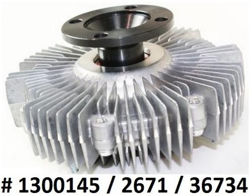 fan clutch de ventilador toyota tundra 3.4l v6 2000 - 2004