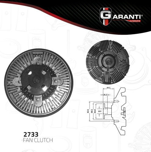 fan clutch  ford f-350 v8 5.8l 1988-1997