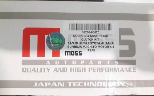 fan clutch toyota autana burbuja machito motor 4.5 1fzfe