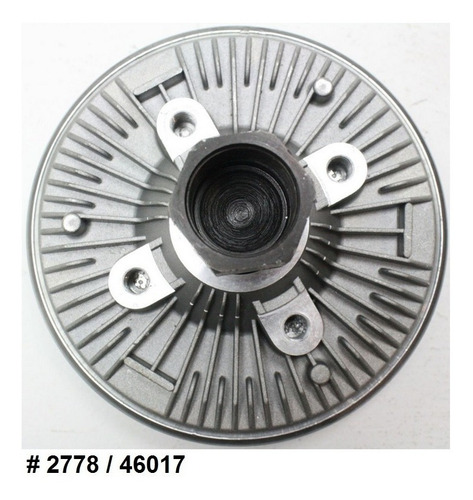 fan clutch ventilador chevrolet colorado 2.8l 2.9l 2004 2012