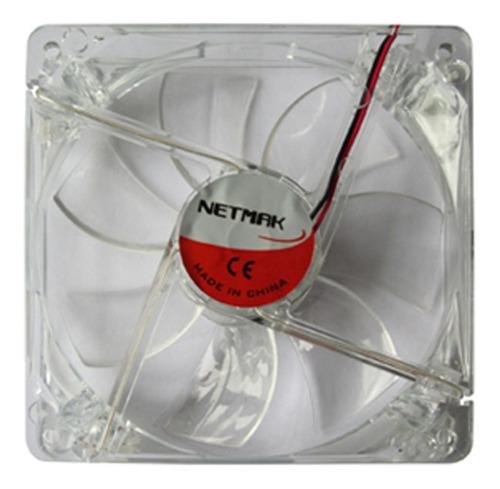 fan cooler 120x120 con led 4 pines nm-12025t - aj hogar