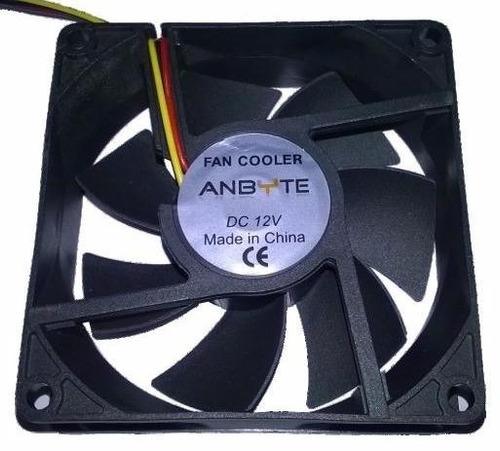 fan cooler anbyte ventilador gabinete 90 x 90 mm 4 pin molex