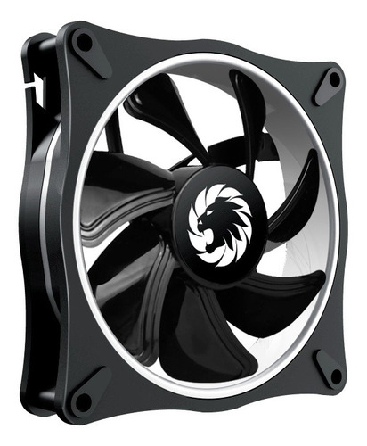 fan cooler argb dual ring gamemax force 12rainbow-db 4-fan