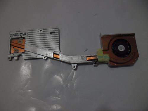 fan cooler con disipador de calor para notebook asus a6000