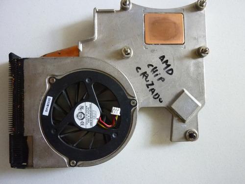 fan cooler con disipador notebook compaq dv2000 v3000 amd