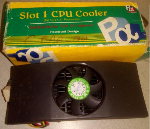 fan cooler slot 1, (pentiun i i  y i i i )