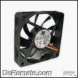 fan cooler standard 8x8 cm con gtiia ventilador computadora